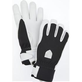 Hestra Army Leather Patrol 5-finger handsker Damer, sort